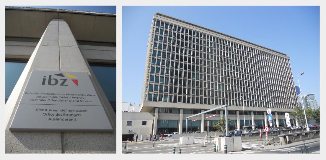 Bâtiments Office des Etrangers